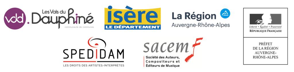 Logos partenaires musika Songes
